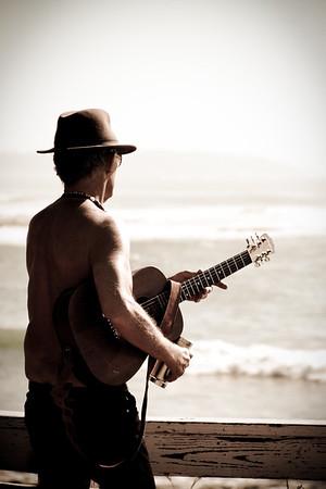 enigmatic guitar player<br /> <br /> La Jolla, CA