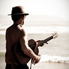 enigmatic guitar player<br /> <br /> La Jolla, CA