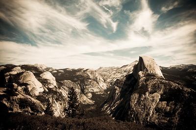 vast beauty  Half Dome, Yosemite National Park Mariposa County, California