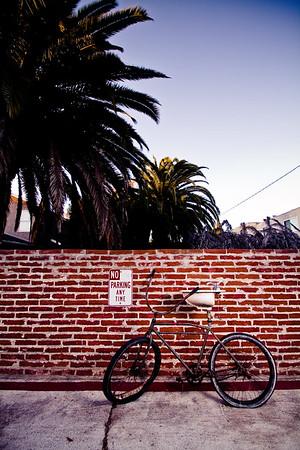 alleyway junk  Pacific Beach, San Diego CA