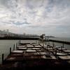 empty pier<br /> <br /> Pier 39, San Francisco CA