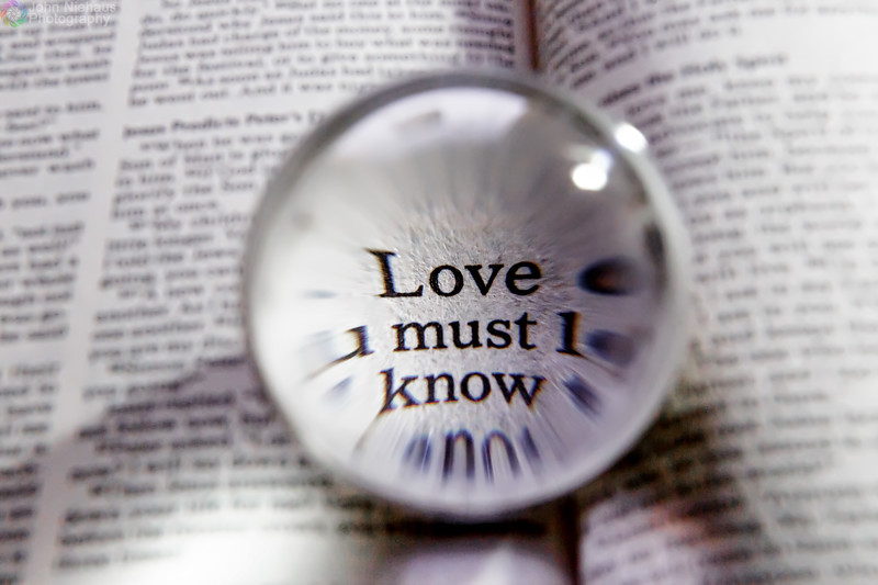 Love Must Know