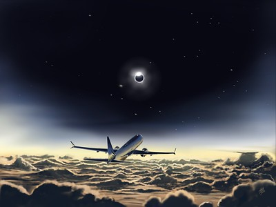 Airliner and Eclipse