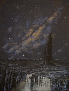 Dark Tower.  I must have been reading Lord of the Rings when I did this...