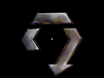 Hexagonal arrow