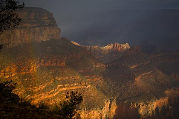Rainbow at the Canyon