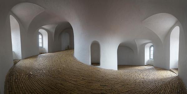 The Round Tower in Copenhagen, Denmark