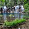 Waterfalls at Hanging Lake, Colorado