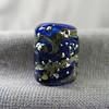 Blue Starry Night series bead, small round
