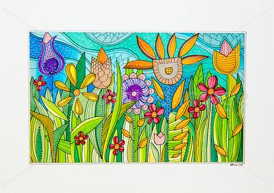 Space Garden [30x20 cm]