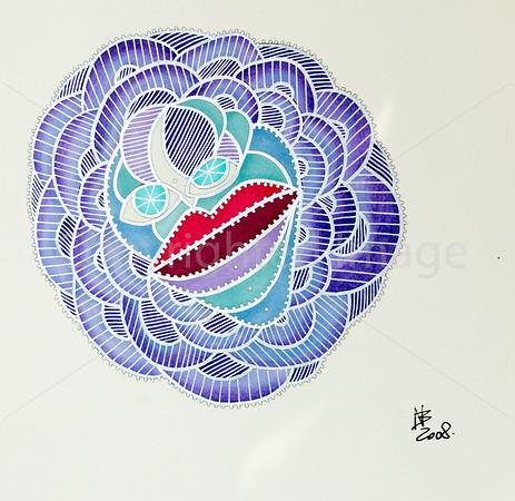 Blueberry [25x25 cm]