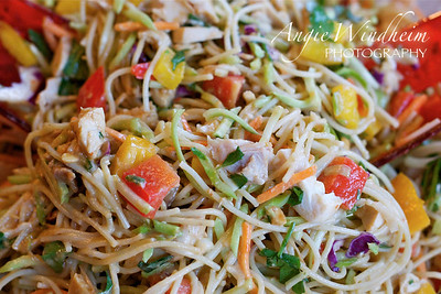 Chicken and Thai Noodle Salad