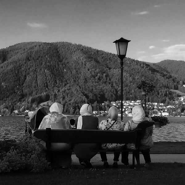 4 Damen am Tegernsee