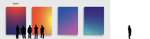 VectorWall™ - Spectralpaper by berlintapete ®