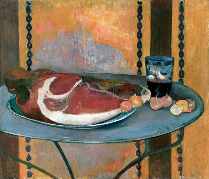 Paul Gauguin (French, 1848–1903), The Ham, 1889, oil on canvas, Phillips Collection, Washington, D.C. --- Image by © Corbis