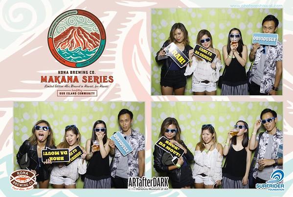 #ArtAfterDark at Honolulu Art Museum + Kona Brewing Co. (Fusion Photo Booth)