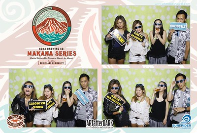 #ArtAfterDark at Honolulu Art Museum + Kona Brewing Co. (Fusion Photo Booth)