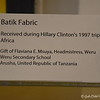 """November 21, 2017<br /> <br /> This is the first of two temporary exhibits on display this fall at the Clinton Center, which explores the colors, shapes, and textures of Africa through a diverse collection of art from the continent. Art of Africa: One Continent, Limitless Vision will explore the colors, shapes, and textures of Africa through pieces from the Clinton Presidential Center's archives as well as from President Bill Clinton's own personal collection. The exhibit will feature a dynamic presentation of textiles, paintings, sculpture, jewelry and clothing given as gifts to President Bill Clinton and First Lady Hillary Rodham Clinton by African Heads of State and as personal gifts by the artisans who created them.""""<br /> <br /> """"Additionally, this exhibit will immerse visitors in Africa's diverse spirit of artistic expression across time that continues to evolve today. From intricately designed kente and batik textiles to traditional sculptures and carvings, Art of Africa: One Continent, Limitless Vision brings rare artifacts from Africa to Arkansas. Presented by Road Runner.""""<br /> <br /> """"ART OF AFRICA: ONE CONTINENT, LIMITLESS VISION"""" 2017<br /> August 26, 2017 - February 19, 2018<br /> William J. Clinton Presidential Library and Museum<br /> 1200 President Clinton Avenue<br /> Little Rock, AR 72201<br /> Telephone Number: (501) 374-4242<br /> <br /> Official Website: <br /> <br /> <a href=""""https://www.clintonlibrary.gov/"""">https://www.clintonlibrary.gov/</a>"""