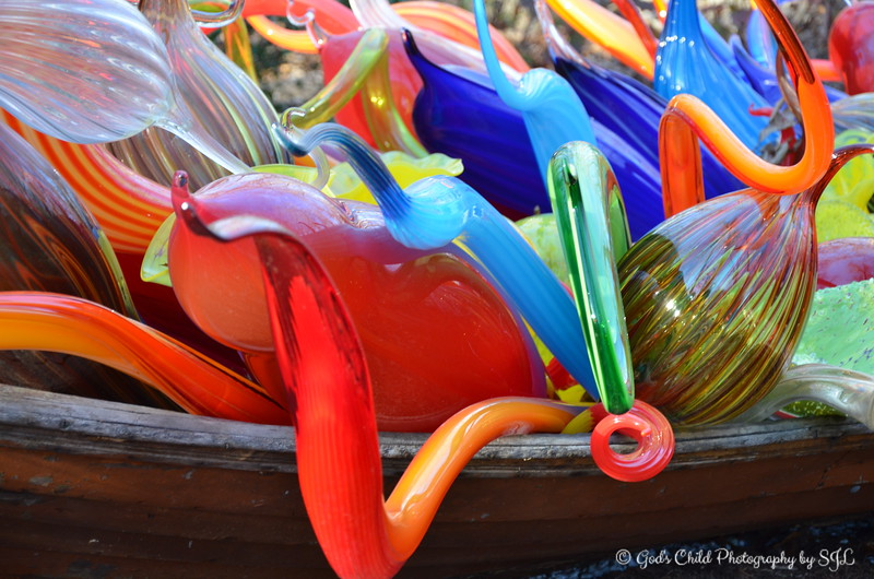 """November 2017<br /> <br /> """"This fall, experience a stunning outdoor exhibition featuring the work of artist Dale Chihuly. Presented for the first time in an Ozark woods, it's a world of wonder, waiting to be explored, only at Crystal Bridges. Chihuly has been an innovator for more than 40 years, working in many media including glass, paint, and neon, and always pushing their boundaries to carry out his distinctive vision.""""<br /> <br /> """"He changed the way we think about glass, stretching the medium to new realms of possibility. Over the years his creations have become familiar around the world. He is globally renowned for his site-specific installations in public spaces, as well as exhibitions in museums and gardens. At Crystal Bridges, Chihuly's breathtaking works are installed along a paved and lighted trail, which winds through the museum's natural Ozark forest."""" <br /> <br /> ~ Reprinted text from here: <br /> <br /> <a href=""""https://crystalbridges.org/exhibitions/chihuly/"""">https://crystalbridges.org/exhibitions/chihuly/</a><br /> <br /> """"DALE CHIHULY: IN THE FOREST"""" 2017<br /> June 3, 2017 - November 27, 2017 (extended from November 13, 2017)<br /> Crystal Bridges Museum of Art<br /> 600 Museum Way<br /> Bentonville, AR 72712<br /> <br /> Crystal Bridges Museum of American Art Official Website: <br /> <br /> <a href=""""http://crystalbridges.org/exhibitions/chihuly/"""">http://crystalbridges.org/exhibitions/chihuly/</a><br /> <br /> Dale Chihuly's Official Website:  <a href=""""http://www.chihuly.com"""">http://www.chihuly.com</a>"""