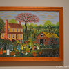 """""""YARD SALE"""" by Mattie Lou O'Kelley<br /> <br /> """"Mattie Lou O'Kelley used bright, vivid colors to create landscape paintings of her early life in rural Georgia. In this resplendent springtime scene, she includes a wealth of detail to depict memories of a local yard sale. The small girl sitting in the doorway may be a self-portrait of O'Kelley as a child.""""<br /> <br /> Artist Name:  Mattie Lou O'Kelley<br /> Nationality & Life Dates:  American, 1908 – 1997<br /> Title:  Yard Sale<br /> Date:  1979<br /> Medium:  Oil on canvas<br /> Dimensions:  28 x 40 inches<br /> Credit Line:  Purchase with funds from the Mattie Lou O'Kelley Endowment<br /> Accession Number:  1999.94<br /> On View - Stent Family Wing, Skyway Level, Gallery 407 <br /> <br /> ~ Reprinted information from here: <a href=""""http://www.high.org/Art/Permanent-Collection/CollectionDetails.aspx?deptName=Folk"""">http://www.high.org/Art/Permanent-Collection/CollectionDetails.aspx?deptName=Folk</a> Art&objNum=1999.94&pageNumber=14&search=true<br /> <br /> High Museum of Art<br /> 1280 Peachtree Street, N.E. <br /> Atlanta, GA 30309<br /> Official website: <a href=""""http://www.high.org"""">http://www.high.org</a><br /> <br /> (photo taken 7/25/2014)<br /> <br /> My Homepage:  <a href=""""http://www.godschild.smugmug.com"""">http://www.godschild.smugmug.com</a>"""