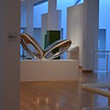 """""""BLO-VOID I"""" by Ron Arad (2006)<br /> <br /> """"One of the most influential contemporary designers today, London based Ron Arad has been an important critical influence on design since the 1980s, when England emerged as a vital contributor to the field. With its sculptural vitality, this futuristic looking chair furthers Arad's exploration of volume that began in the 1990s. Its striking form was made possible by technological developments in computer assisted design. The polished, reflective sides are made from a super plastic aluminum alloy that has been blown into a mold using an air pressure technique developed for the aerospace industry. The seat and back, or """"belt,"""" as Arad calls it, is made of woven aluminum wire tinted blue through the anodization process, the designer's first experimentation in the use of color on metal.""""<br /> <br /> Artist Name:  Ron Arad<br /> Nationality & Life Dates:  British, born Israel 1951<br /> Title:  Blo-Void I<br /> Date:  2006<br /> Medium:  Mirror-polished aluminum alloy and anodized woven-aluminum mesh <br /> Dimensions:  40 x 80 x 17 inches<br /> Credit Line:  Purchase through prior acquisition from Beth and Sam Scarboro in loving memory of Grace and Dewey D. Scarboro, and bequests of Kate Session Marsh and Mrs. Norman Powell Pendley <br /> Accession Number:  2007.121<br /> On View - Stent Family Wing, Skyway Level, Gallery 410 <br />  <br /> ~ Reprinted information from here: <a href=""""http://www.high.org/Art/Permanent-Collection/CollectionDetails.aspx?deptName=Decorative"""">http://www.high.org/Art/Permanent-Collection/CollectionDetails.aspx?deptName=Decorative</a> Arts and Design&objNum=2007.121&pageNumber=3<br /> <br /> High Museum of Art<br /> 1280 Peachtree Street, N.E. <br /> Atlanta, GA 30309<br /> Official website: <a href=""""http://www.high.org"""">http://www.high.org</a><br /> <br /> (photo taken 7/25/2014)<br /> <br /> My Homepage:  <a href=""""http://www.godschild.smugmug.com"""">http://www.godschild.smugmug.com</a>"""