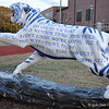 """1956 FIGHTING TIGER"" by George Salazar<br /> <br /> In 1956, The College created a formal Evening School Division to grow night school enrollment.<br /> <br /> Sponsor: The University of Memphis Band Alumni Chapter"