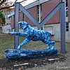 """2004 ARIC"" Tiger by Paul Miller (BFA '05)<br /> <br /> In 2004, The University opened the new Millington Center as a satellite campus.<br /> <br /> Sponsor: The University of Memphis Physical Plant"