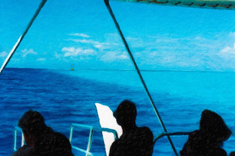 Blue Tahitian Rainbow
