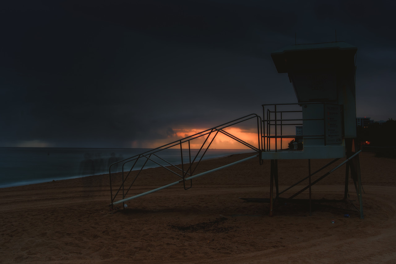 The Life Guard Stand and the Ghost