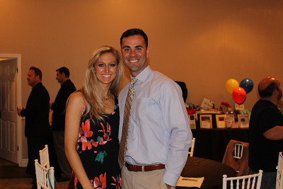 Annelise Bacon and Brad Reed (Event MC)