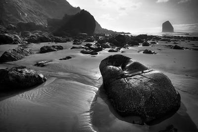 Rocky Landscape By Beverly Downen