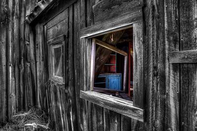 "Inside the Dead House By Brett Downen  Float Mounted MetalPrint Available sizes: 4"" x 6"", 8"" x 12"", 16"" x 24"". 24"" x 36"""