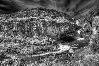 White River Falls State Park  by Brett Downen