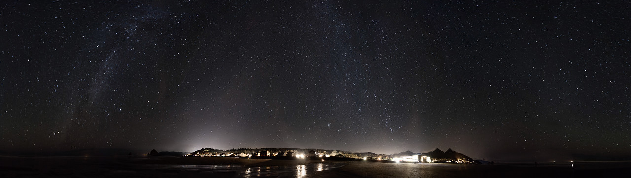 Starry Night on Cannon Beach