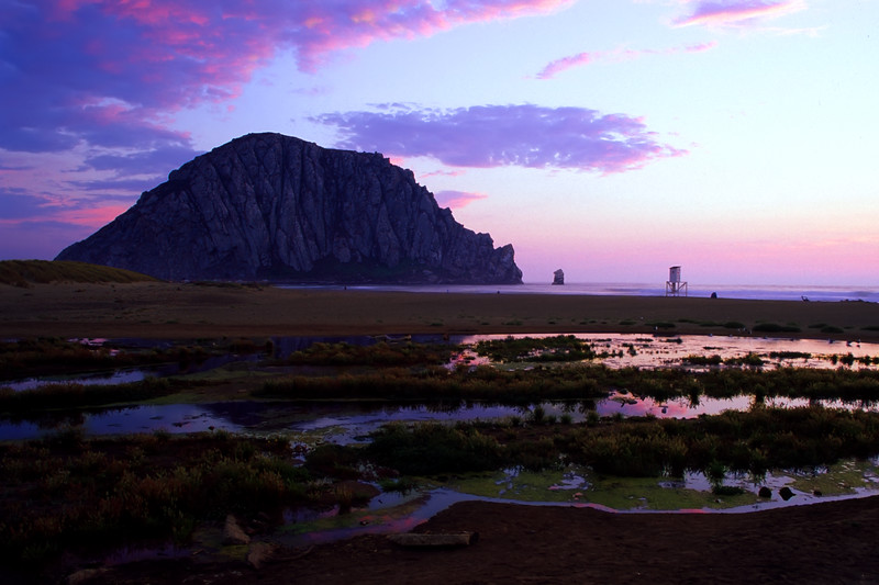 "Morro Bay, California<br /> Digitized print shot on Fujichrome Velvia<br /> By Brett Downen<br /> <br /> Float Mounted MetalPrint<br /> Available sizes: 4"" x 6"", 8"" x 12"", 16"" x 24"". 24"" x 36"""