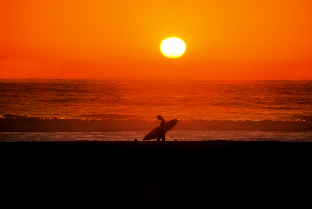 "A Good Day<br /> Morro Beach, California<br /> By Brett Downen<br /> <br /> Float Mounted MetalPrint<br /> Available sizes: 4"" x 6"", 8"" x 12"", 16"" x 24"". 24"" x 36"""