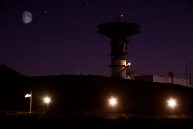 Not entirely real but the satellite was always an important landmark to me on the coast.