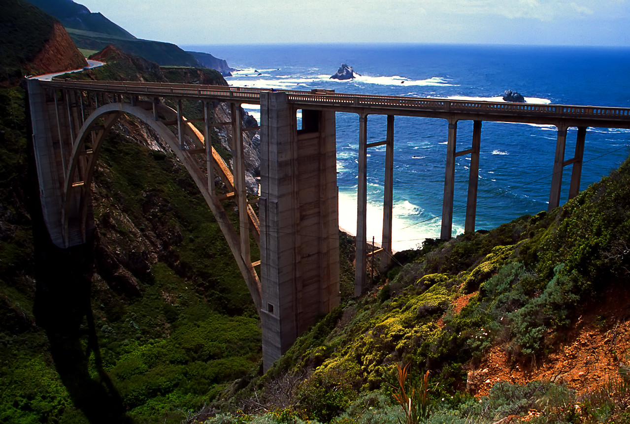 Monterey's Most Famous Bridge<br /> Monterey, California
