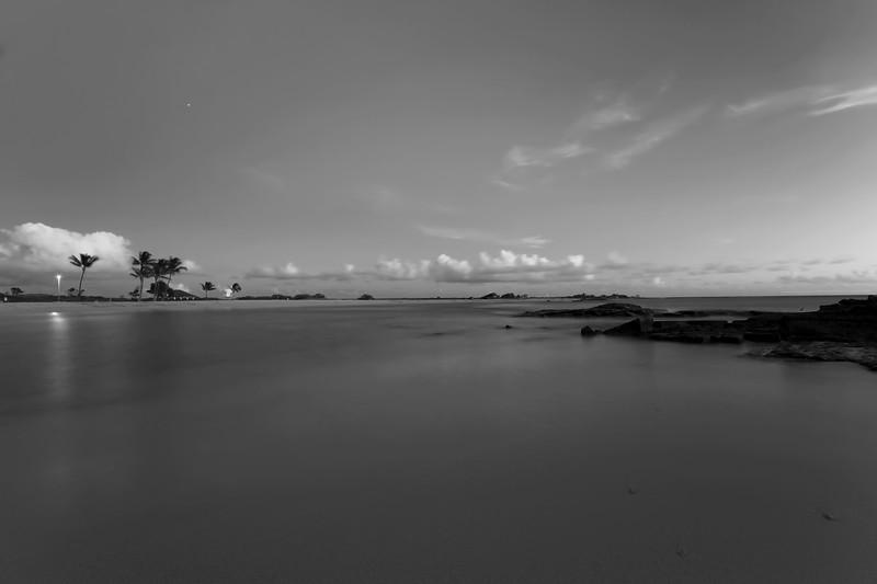 "The Stillness of Evening<br /> Salt Pond State Park, Kauai, Hawaii<br /> By Brett Downen<br /> <br /> Float Mounted MetalPrint<br /> Available sizes: 4"" x 6"", 8"" x 12"", 16"" x 24"". 24"" x 36"""