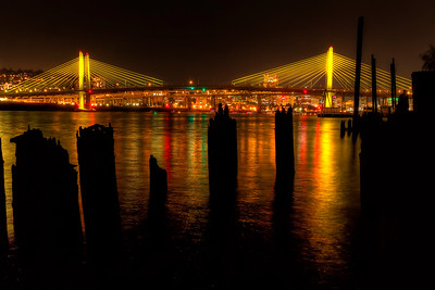 Tilikum Crossing Bridge Lighting