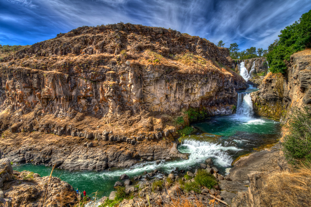 White River Falls, Oregon<br /> <br /> by Brett Downen
