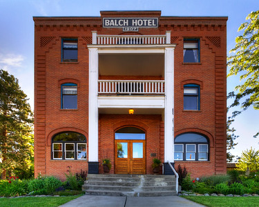 The Balch Hotel. Dufur, Oregon