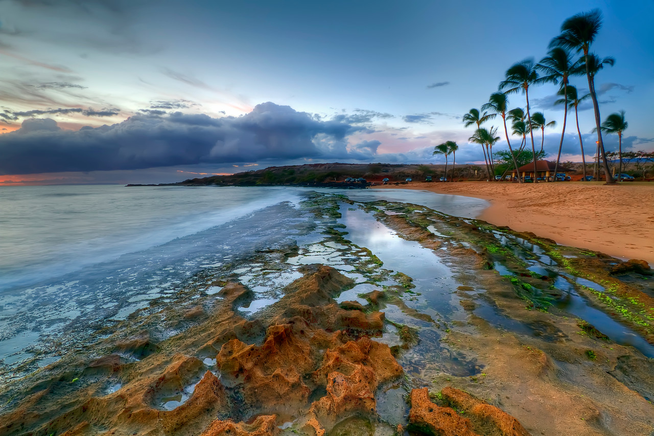 "Salt Pond State Park, Kauai, Hawaii<br /> By Brett Downen<br /> <br /> Float Mounted MetalPrint<br /> Available sizes: 4"" x 6"", 8"" x 12"", 16"" x 24"". 24"" x 36"""
