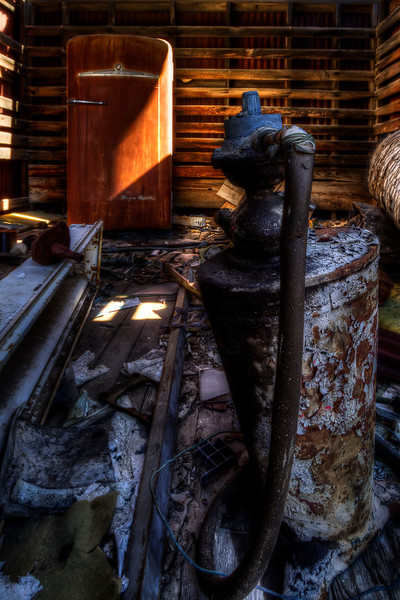 Abandoned Shed<br /> in a high desert ghost town somewhere in Nevada<br /> <br /> by Brett Downen