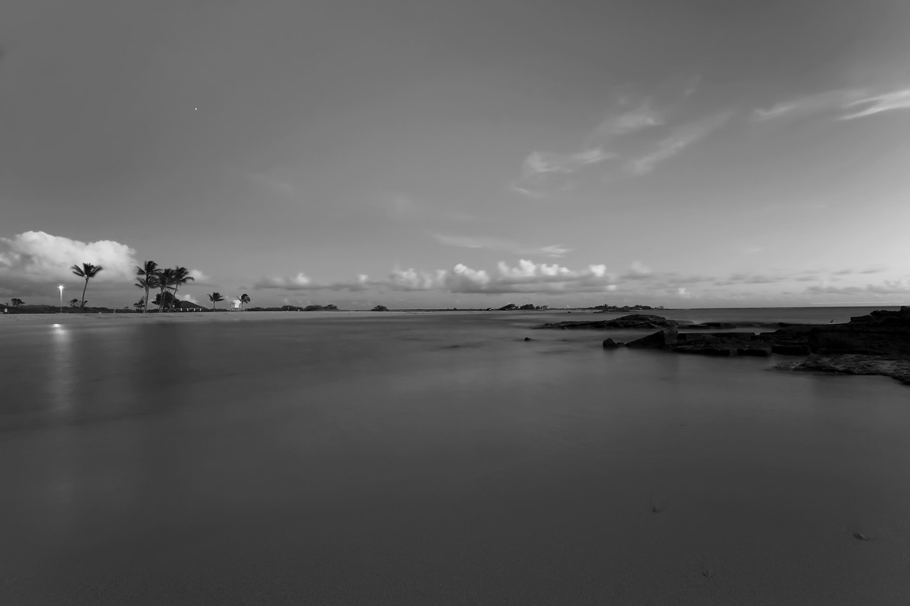 "The Stillness of Evening<br /> Salt Pond State Park, Kauai, Hawaii<br /> By Brett Downen<br /> <br /> Float Mounted MetalPrint<br /> Available sizes: 4"" x 6"", 8"" x 12"", 16"" x 24"". 24"" x 36"""