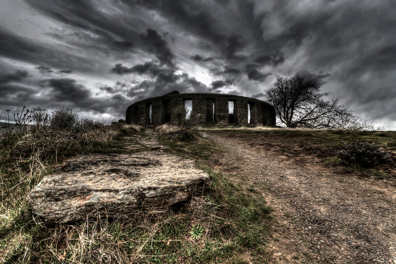 Stonehenge War Memorial<br /> near Marysville, Washington<br /> <br /> by Brett Downen