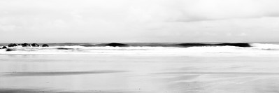Low tide and Questionable Surf  by Brett Downen
