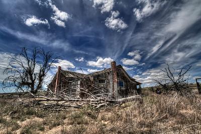 The Martin Homestead Near Rosebush, Oregon  by Brett Downen