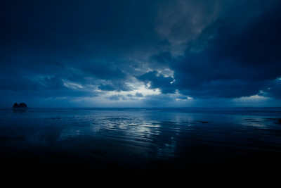 Bluescape. Cannon Beach, Oregon  by Brett Downen