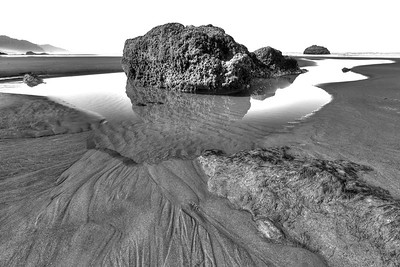 Hug Point Beach, Oregon 7 exposure HDR image  by Brett Downen